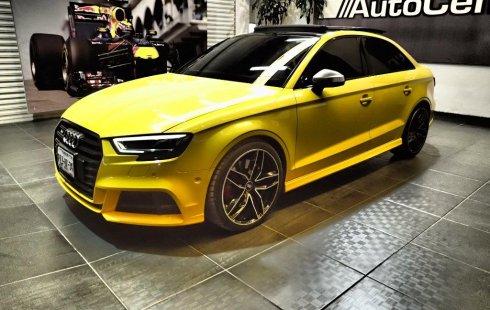 Carro Audi S3 2017 de único propietario en buen estado