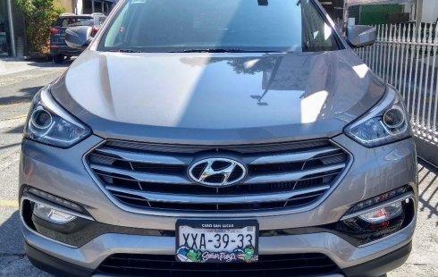 Hyundai Santa Fe 2018 barato en Puebla