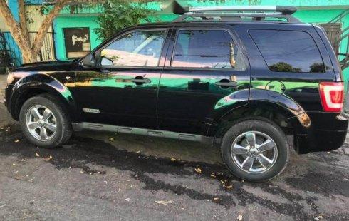 Me veo obligado vender mi carro Ford Escape 2008 por cuestiones económicas