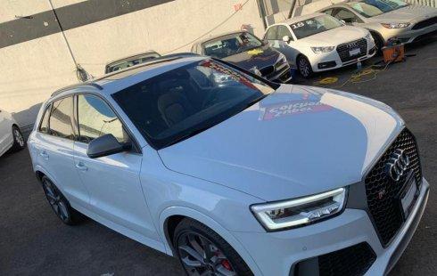 Un carro Audi Q3 2018 en Zapopan