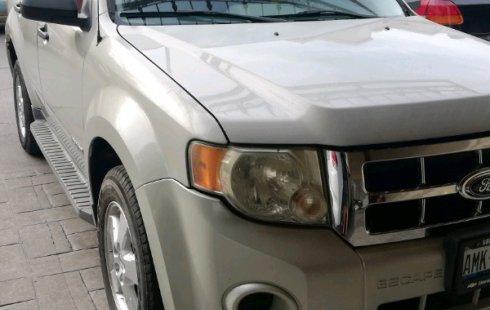 Ford Escape impecable en Sinaloa