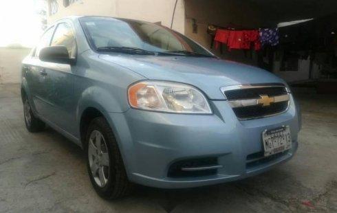 Chevrolet Aveo usado en San Andrés Cholula