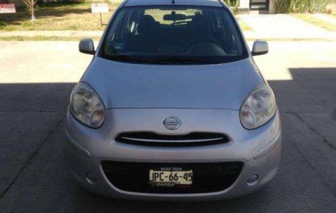 No te pierdas un excelente Nissan March 2012 Manual en Zapopan