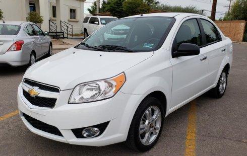Chevrolet Aveo precio muy asequible