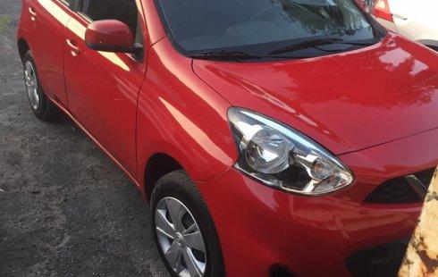 Nissan March 2016 Rojo solo 9,000 km !!!!