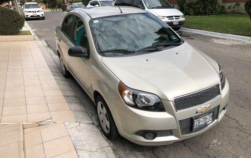 Chevrolet Aveo impecable en Puebla más barato imposible