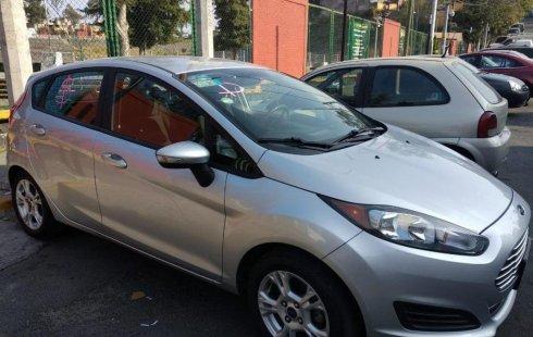 Se vende urgemente Ford Fiesta 2015 Automático en Tlalpan