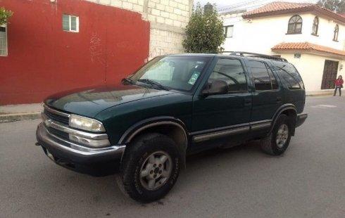 Se vende urgemente Chevrolet Blazer 1998 Automático en Puebla