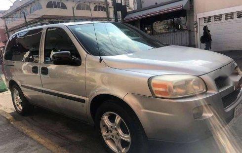 Quiero vender urgentemente mi auto Chevrolet Uplander 2008 muy bien estado