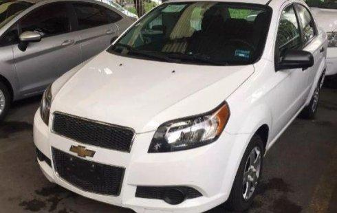 Chevrolet Aveo 2014 barato en Gustavo A. Madero