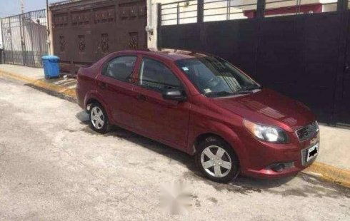 Chevrolet Aveo 2011 barato en Cuautitlán Izcalli