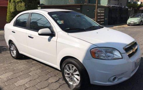 Quiero vender inmediatamente mi auto Chevrolet Aveo 2011