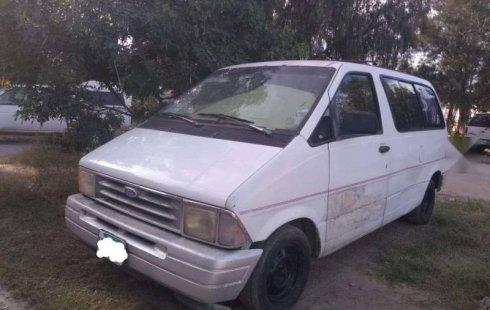 Quiero vender inmediatamente mi auto Ford Aerostar 1993 muy bien cuidado