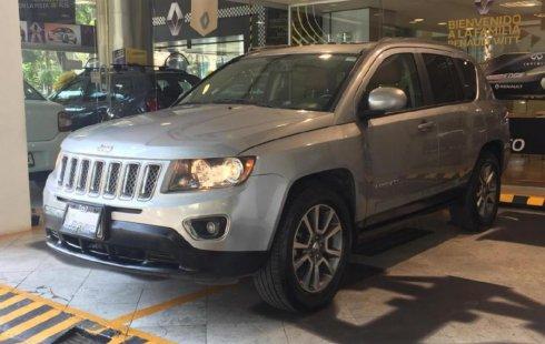No te pierdas un excelente Jeep Compass 2014 Automático en Cuauhtémoc