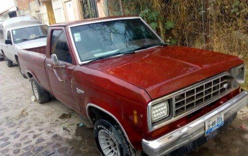 Me veo obligado vender mi carro Ford Ranger 1985 por cuestiones económicas