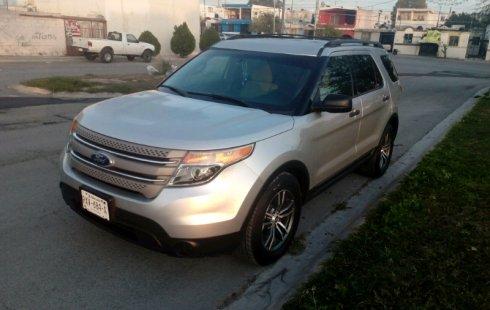 Ford Explorer 2011 barato en Nuevo León