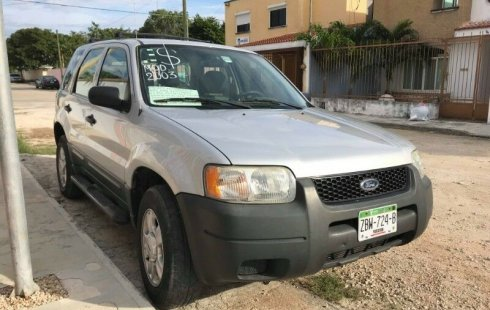 SHOCK!! Un excelente Ford Escape 2003, contacta para ser su dueño