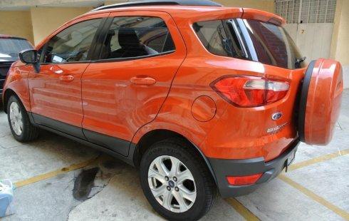 Tengo que vender mi querido Ford EcoSport 2015 en muy buena condición