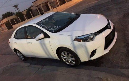 Quiero vender urgentemente mi auto Toyota Corolla 2014 muy bien estado