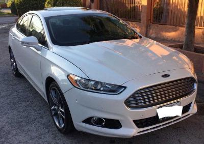 Quiero vender inmediatamente mi auto Ford Fusion 2014 muy bien cuidado
