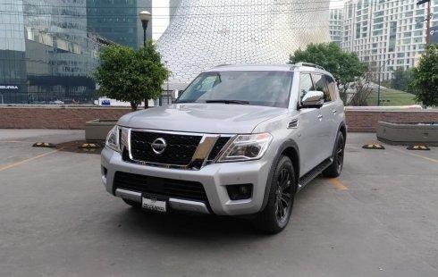 Carro Nissan Armada 2017 de único propietario en buen estado