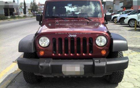 Vendo un Jeep Wrangler impecable