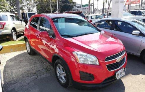 No te pierdas un excelente Chevrolet Trax 2015 Automático en Guadalajara