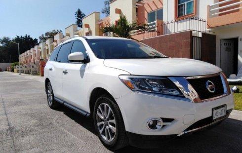 Urge!! Vendo excelente Nissan Pathfinder 2014 Automático en en Yautepec