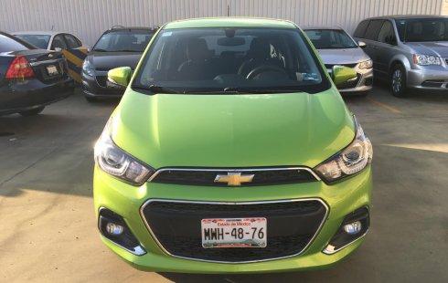 Chevrolet Spark 2016 verde en Coyoacán, CDMX
