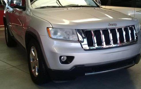 Jeep Grand Cherokee 2011 Plata