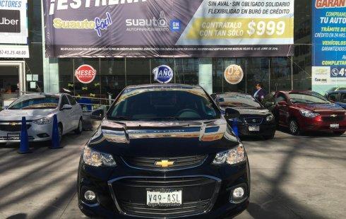 Chevrolet Sonic 2017 automático