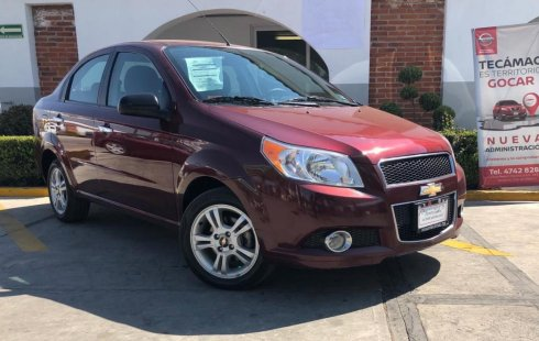 Pongo a la venta cuanto antes posible un Chevrolet Aveo en excelente condicción a un precio increíblemente barato