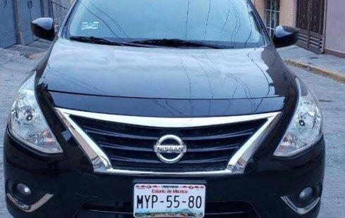 Quiero vender urgentemente mi auto Nissan Versa 2017 muy bien estado