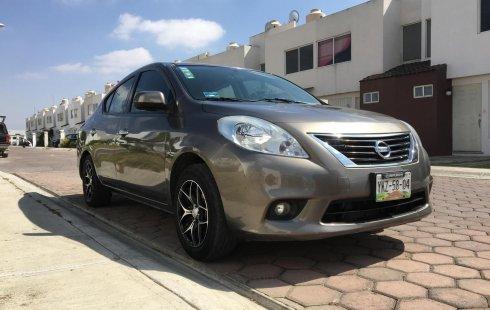 Venta Nissan Versa Advance Aut AC 2014 Financiamiento TC