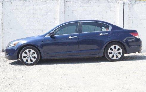 Un Honda Accord 2009 impecable te está esperando