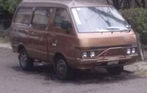 Se vende urgemente Nissan Ichi van 1989 Manual en Ecatepec de Morelos