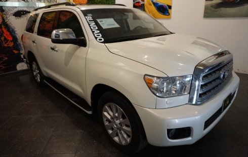 Toyota Sequoia Platinum Aa R-20 Piel Qc Dvd Td At BLINDAJE NIVEL 3