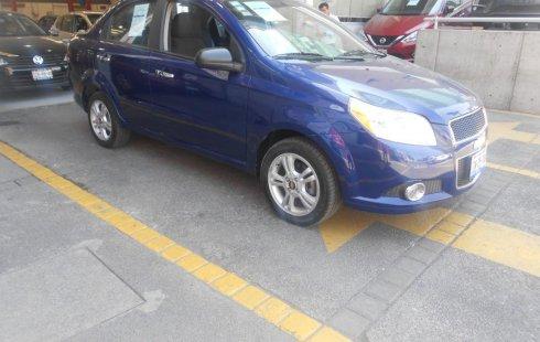 Vendo un Chevrolet Aveo en exelente estado