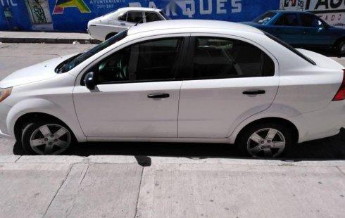 Chevrolet Aveo impecable en Aguascalientes más barato imposible