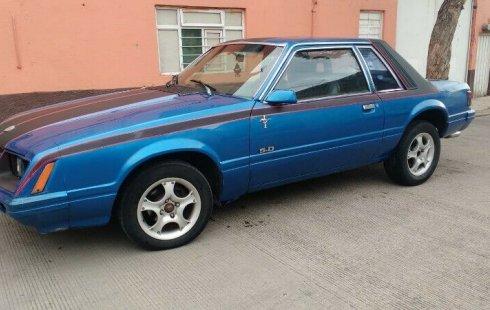Quiero vender urgentemente mi auto Ford Mustang 1980 muy bien estado