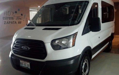 SHOCK!! Un excelente Ford Transit 2017, contacta para ser su dueño