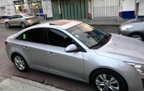 Chevrolet Cruze 2014 barato en Coacalco de Berriozábal
