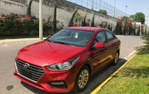 Un carro Hyundai Accent 2018 en Monterrey