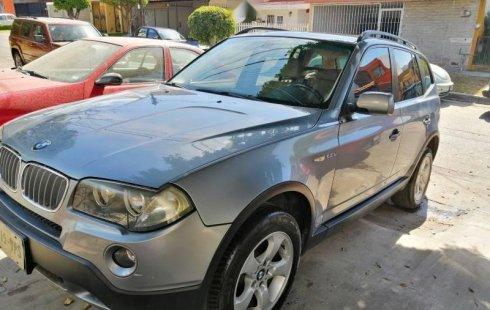Carro BMW X3 2008 de único propietario en buen estado