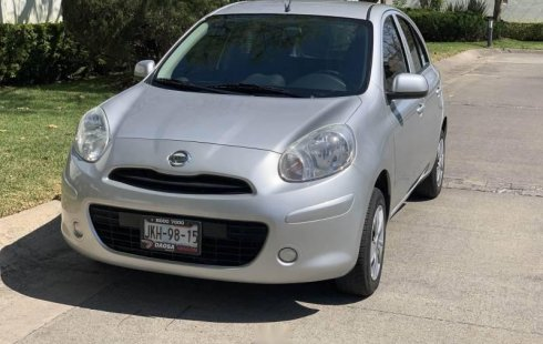 Un Nissan March 2013 impecable te está esperando