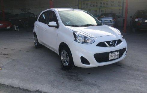 Urge!! Un excelente Nissan March 2017 Automático vendido a un precio increíblemente barato en Nuevo León