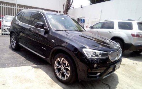 Un BMW X3 2016 impecable te está esperando