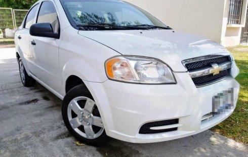 Quiero vender cuanto antes posible un Chevrolet Aveo 2011