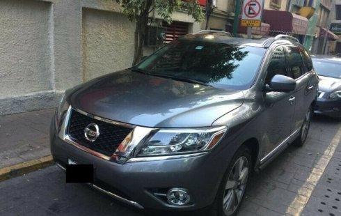 Precio de Nissan Pathfinder 2015