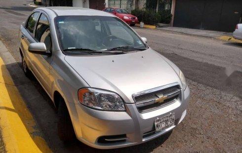 Chevrolet Aveo 2011 barato en Cuajimalpa de Morelos